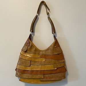 90's Style Layered Shoulder Purse